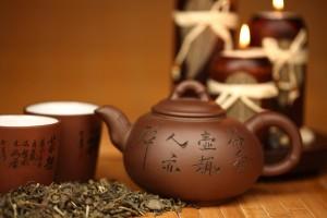 china tea background close up